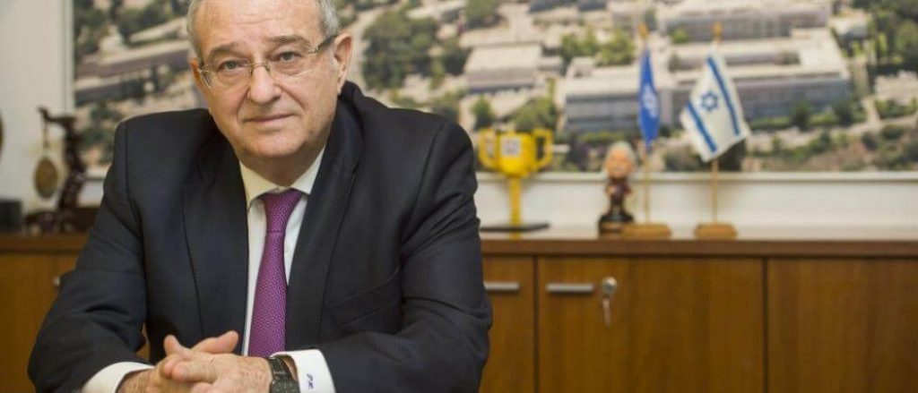 Technion President Peretz Lavie (Credit Nitzan Zohar: Office of the Spokesperson, Technion)