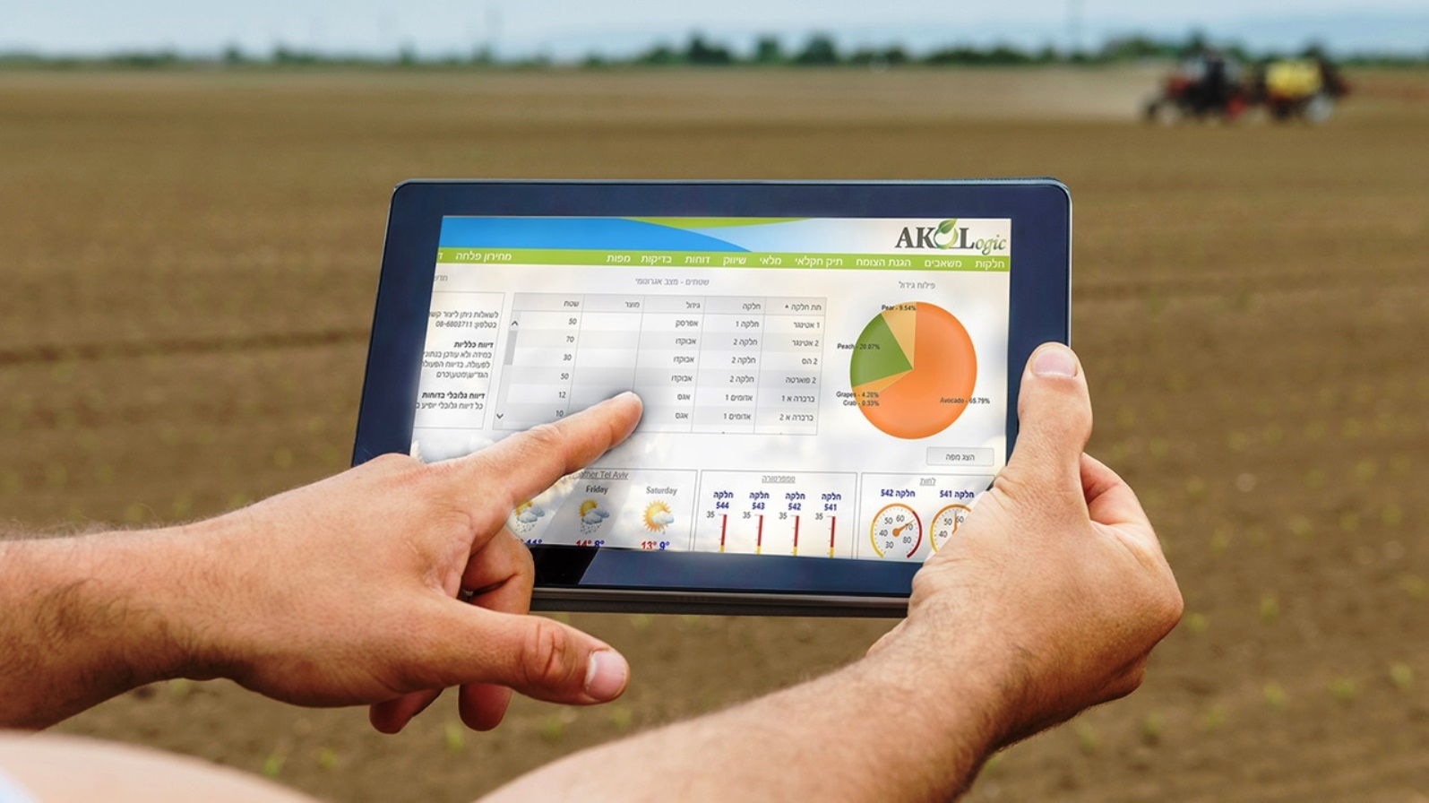 The AKOLogic system helps farmers manage any kind of crop according to any country's import regulations. Photo: courtesy