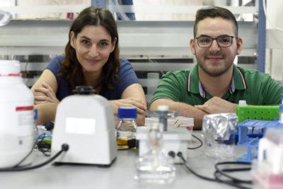 Associate Professor Meytal Landau and Mr. Nir Salinas