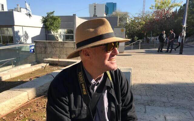 Ezri Tarazi, professor of industrial design in charge of the t-hub entrepreneurship program of the Technion, December 19, 2019. (Shoshanna Solomon/Times of Israel)