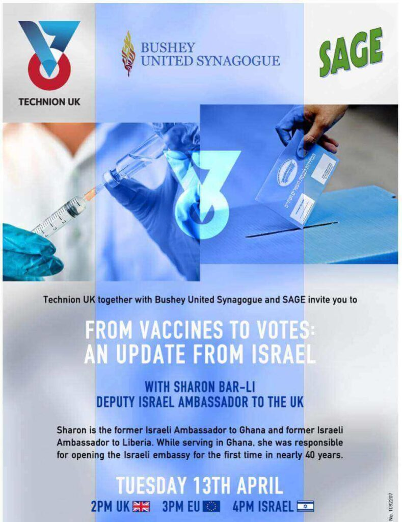 From Vaccines to Votes: An update from Israel