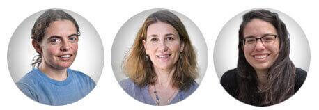 Technion AI researchers: (l-r) Dr. Ofra Amir, Dr. Liat Levontin, Zohar Gilad